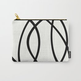 Community - Black and white abstract Carry-All Pouch