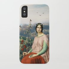 Lady of the Fields Slim Case iPhone X
