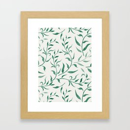 Leaves 4 Gerahmter Kunstdruck