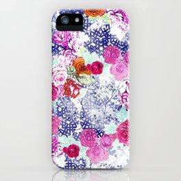 Floral Rococo iPhone Case
