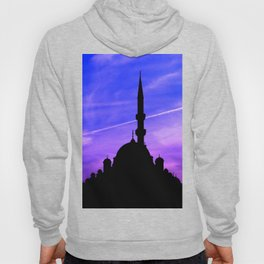 mosque and sunset Hoody