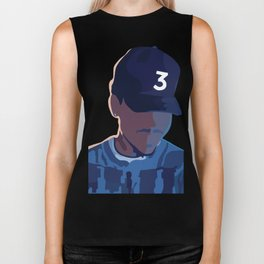 Coloring Book - Chance the Rapper Biker Tank