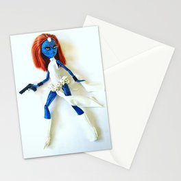 Mystique Custom Doll Stationery Cards