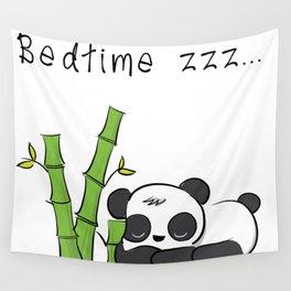 Bedtime Panda Wall Tapestry