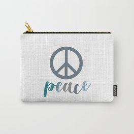 Peace- The symbol of peace Carry-All Pouch