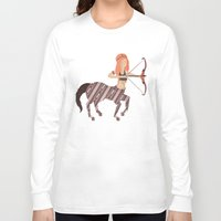 archer Long Sleeve T-shirts featuring ARCHER by Kiley Victoria