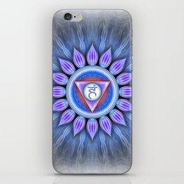 Vishuddha Chakra - Throat Chakra - Series IV iPhone Skin