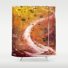 At the Speed Of Light Shower Curtain