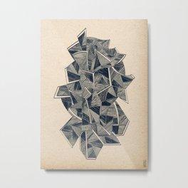 - bipertale - Metal Print