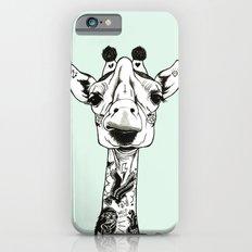 Giraffe Tattooed  iPhone 6s Slim Case