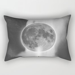Moon Talks Rectangular Pillow