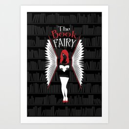 The Book Fairy Art Print