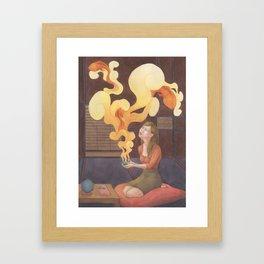 Teahouse of Wonder Framed Art Print