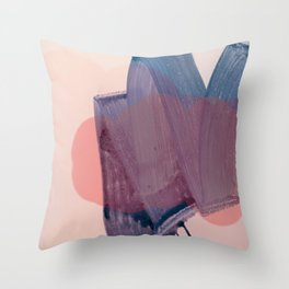 brush strokes 1 Throw Pillow