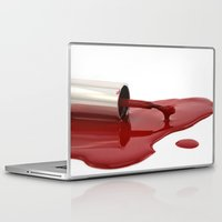 nail polish Laptop & iPad Skins featuring nail polish by Sissy Kreka