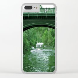 riverboat Clear iPhone Case
