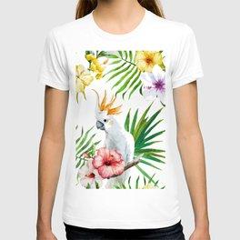 Tropical Bird Pattern 03 T-shirt