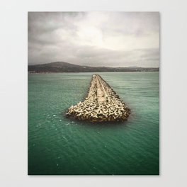 A Dream of Greece Canvas Print