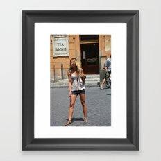 sdasjdashnckac Framed Art Print