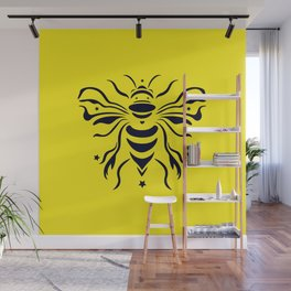 Save the bumblebee by #Bizzartino Wall Mural