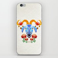 chinese iPhone & iPod Skins featuring chinese goat by Manoou