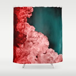 α Spica Shower Curtain