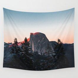 Last Light at Yosemite National Park Wall Tapestry