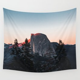 Last Light at Yosemite National Park Wall Tapestry