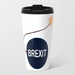 Brexit Black Bomb Travel Mug