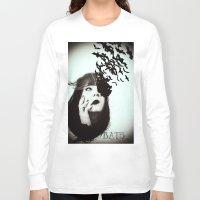 bats Long Sleeve T-shirts featuring Bats by Nuria Mrtz. FotoArt