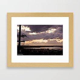 Warm Hawaii Framed Art Print