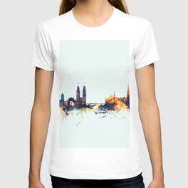 Zurich Switzerland Skyline T-shirt