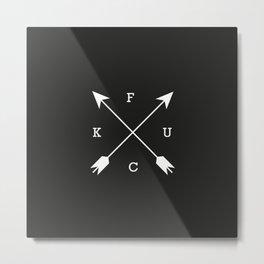 Fcuk #17 Metal Print