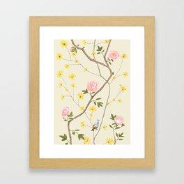 Jenny Chinoiserie  Framed Art Print