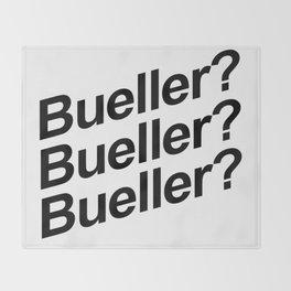 Bueller? Throw Blanket