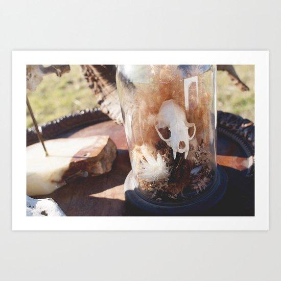 dead guy Art Print