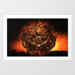 FIREBALL II Art Print