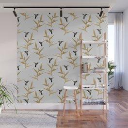 Hummingbird & Flower II Wall Mural