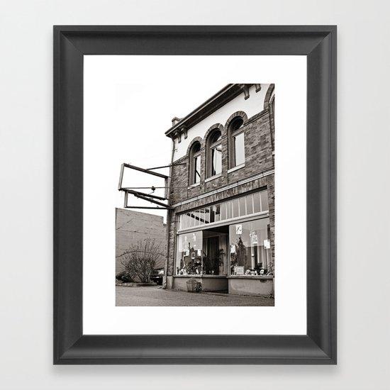 South Tacoma studio Framed Art Print