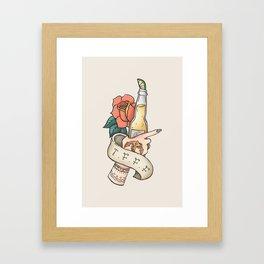 Thank F*** For Fridays Framed Art Print