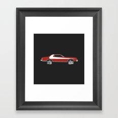 Starsky and Hutch Framed Art Print