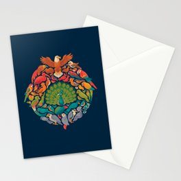 Aerial Rainbow Stationery Cards
