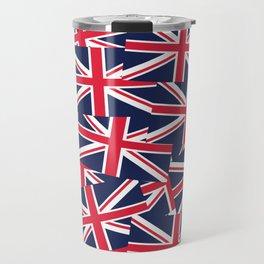 Union Jack Flags Travel Mug