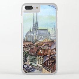 Czech Republic, Brno - 2117 Clear iPhone Case
