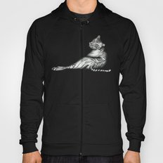 The Hunter in Black Hoody