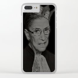 Vintage Notorious RBG tshirt Ruth Bader Ginsburg court Clear iPhone Case