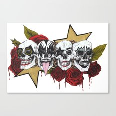 Rock 'n' roll all night Canvas Print