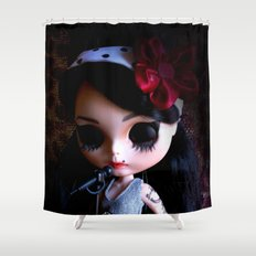 Blythe Winehouse Shower Curtain