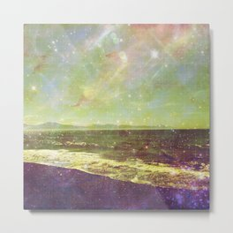 Diamond Creek Beach Metal Print