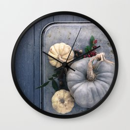 Gourds and Squash Wall Clock